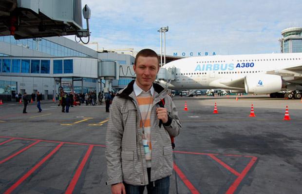 «Airbus A380» в Домодедово
