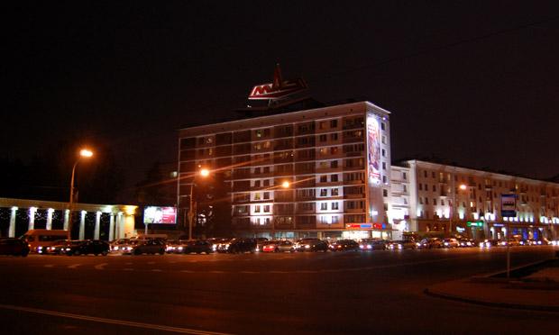 Прогулки по ночному Минску