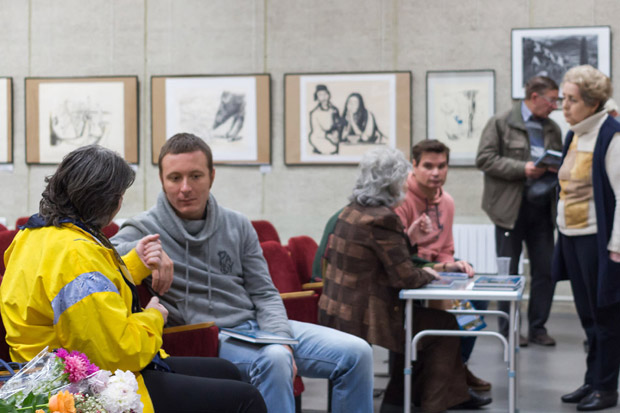 Презентация книги Дины Габрианович в Музее истории Обнинска