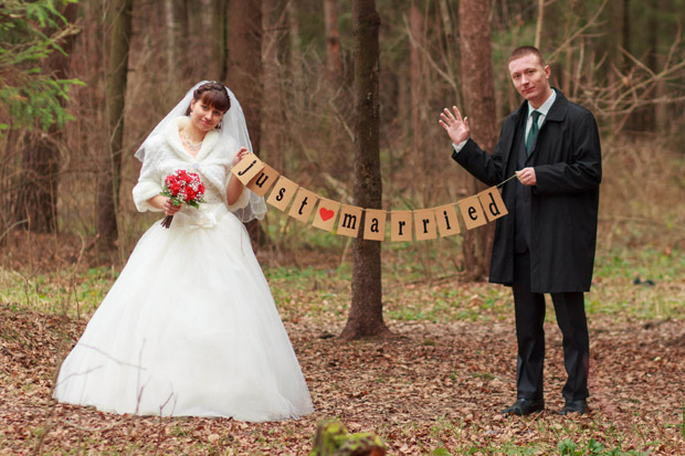 Ольга Сергеевна Майнас. Just married.