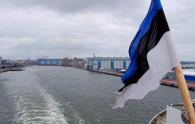 Отплытие на пароме из Хельсинки в Таллинн