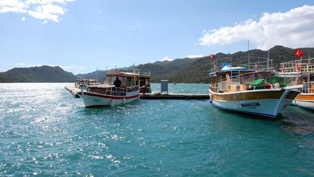 Бухта на южном побережье Турции
