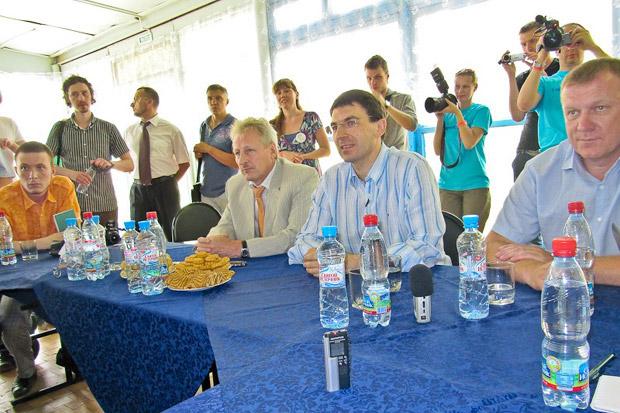 Конференция с федеральным министром Игорем Щёголевым